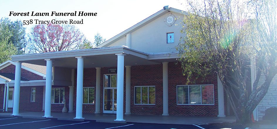 Picture of Front of Funeral Home
